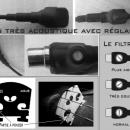 micro violon acoustique mv1