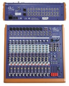 table de mixage alpha audio mix sixteen dsp