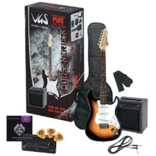 pack guitare electrique rc100 sunburst