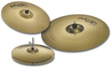 set cymbales paiste 101 brass 870.144