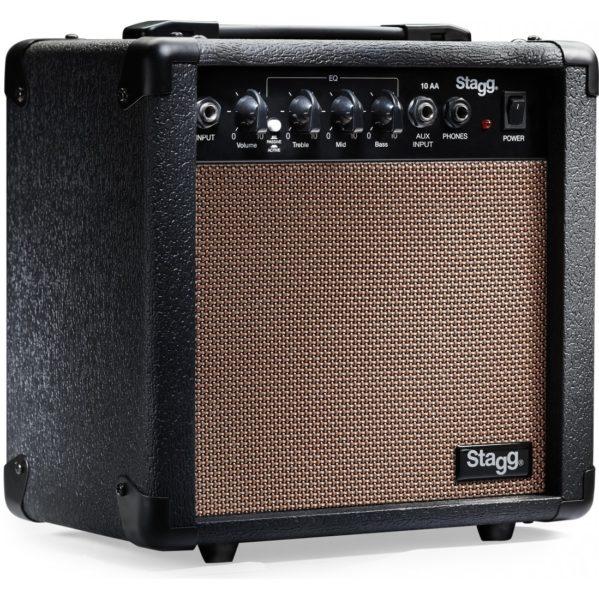 amplificateur guitare acoustique stagg 10aa eu