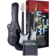 pack guitare électrique stagg 250bk