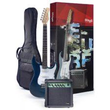 pack guitare électrique stagg 250tb