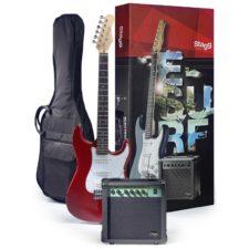 pack guitare électrique stagg 250tr