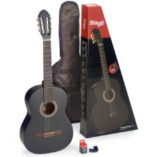 pack guitare classique stagg c440mbl