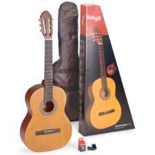 pack guitare classique stagg c440mnat