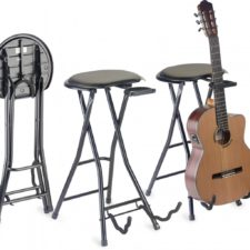 tabouret et stand guitare stagg gist350