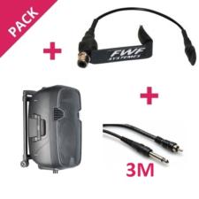 Micro violon FWF MV1 et sono amplifie Stagg + câble de raccordement Jack