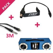 Pack ampli autonome micro instrument violon mv1 cable crj3