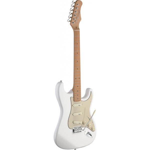 guitare électrique stagg se s50mcwh