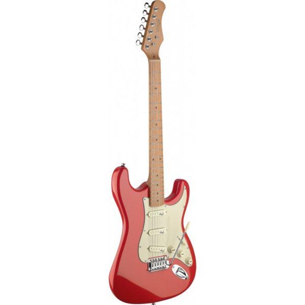 guitare électrique stagg se s50mfrd