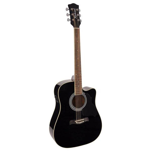 guitare électro-acoustique richwood rd12cebk