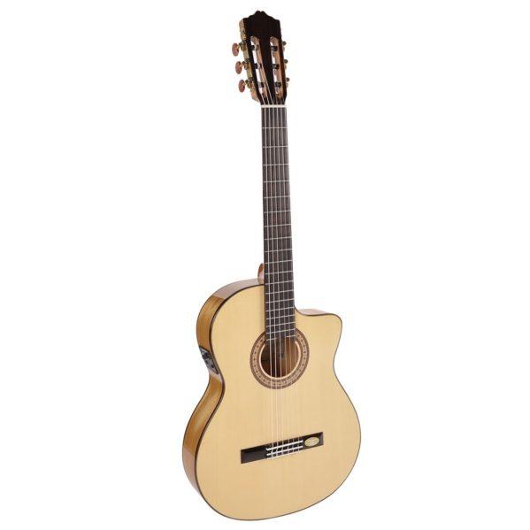 guitare classique électro acoustique salvador cortez cf55tce