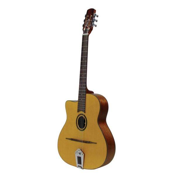 guitare manouche petite bouche richwood gaucher rm70lnt