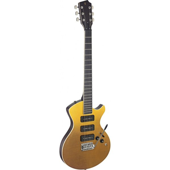 guitare électrique stagg silveray svy nashdlx fsb