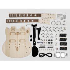 kit de fabrication guitare électrique double manche kit-dn10