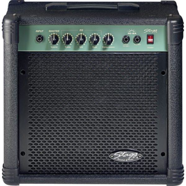 amplificateur basse stagg 40ba-eu