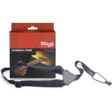 courroie pour guitare classique stagg sncl001-bk