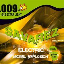 corde guitare electrique savarez x50-xl