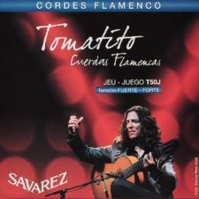 jeu de cordes guitare flamenco savarez t50-j