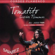 jeu de cordes guitare flamenco savarez t50-r