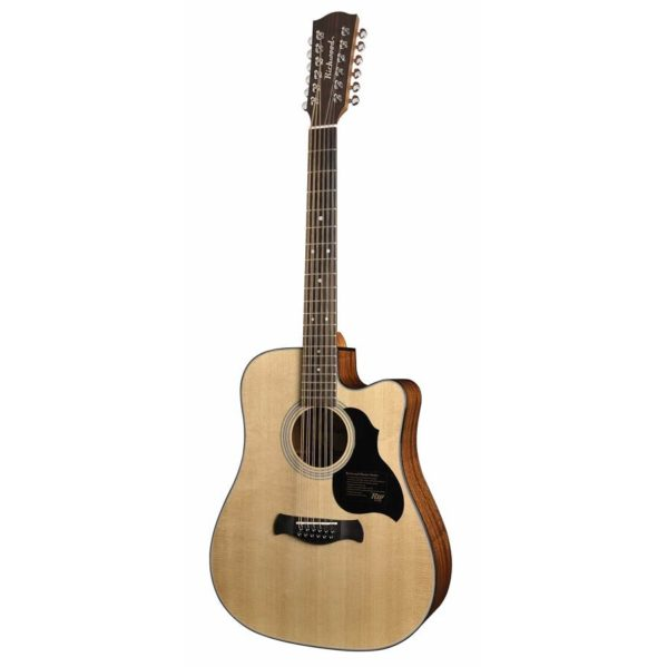 guitare folk electro-acoustique 12 cordes richwood d-4012-ce