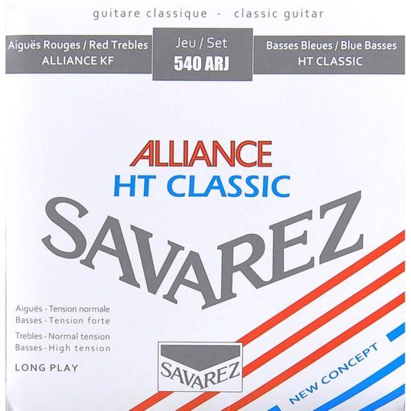 jeu de cordes guitare classique savarez 540arj