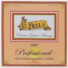 jeu de cordes classique la bella pour guitare 10 cordes