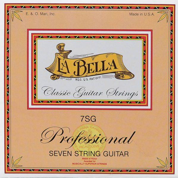 jeu de cordes classique la bella pour guitare 7 cordes