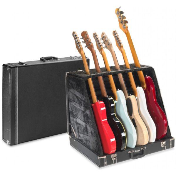 coffre guitares stagg gdc-6