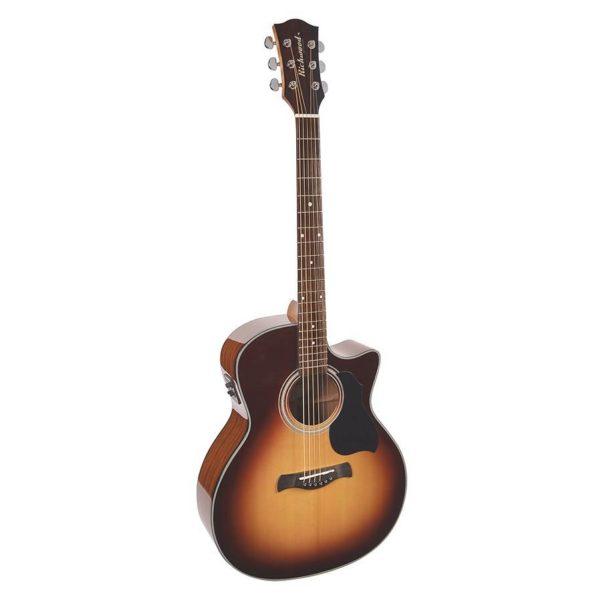 guitare folk elecro richwood master series g40cesb