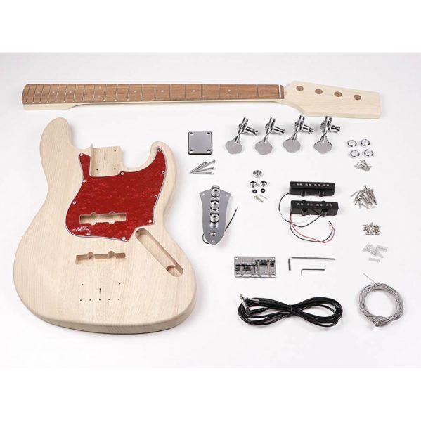 kit d'assemblage guitare basse boston kit-jb15