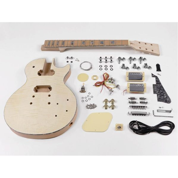 kit d'assemblage guitare les paul boston kit-lp45