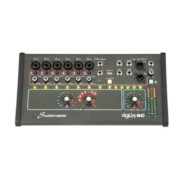 studiomaster digilive8c