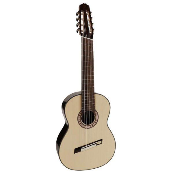 guitare classique concert series salvador cortez 8 cordes avec frettes en eventail