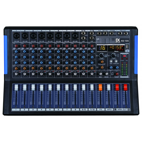 table de mixage ek audio kg12a