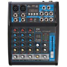 able de mixage avec effets ek audio kt04up