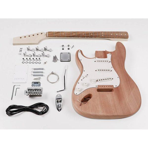 kit d'assemblage pour gaucher boston guitare electrique kit-st15l modèle statocaster