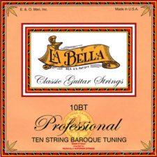 jeu de cordes la bella guitare 10 cordes accordage baroque