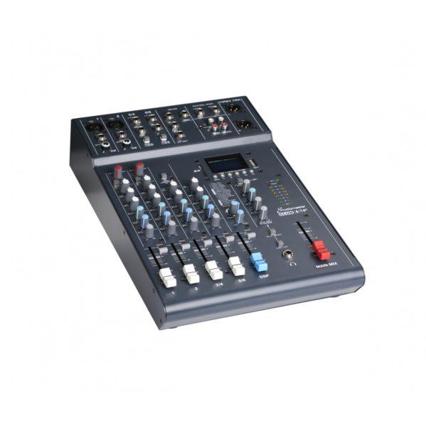 table de mixage 6 entrées studiomaster xs6+