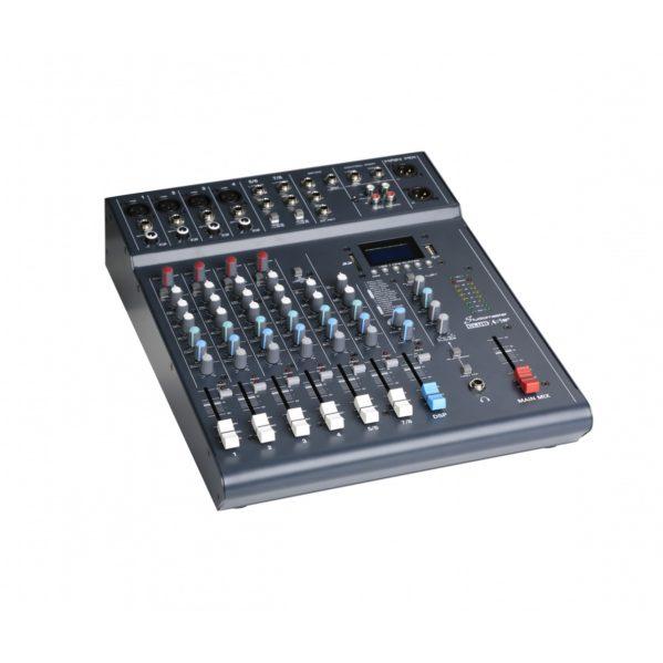 table de mixage 8 entrées studiomaster xs8+