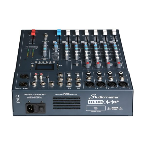 table mix studiomaster xs8+