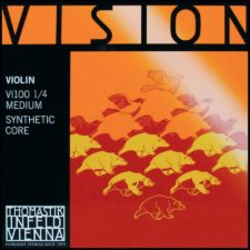 jeu de corde violon thomastik vi100 14 pour violon un quart