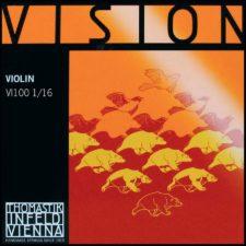 jeu de corde violon thomastik vi100 16 pour violon un seizième