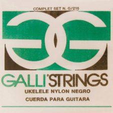 jeu de cordes galli g216b black nylon