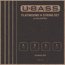jeu de cordes galli ka-bass-4fw pour basse ukulele