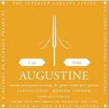 jeu de cordes guitare classique augustine clasic gold au-clgo
