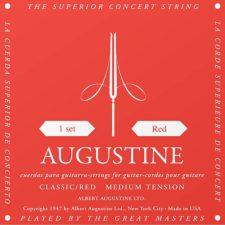 jeu de cordes guitare classique augustine clasic red au-clrd