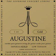 jeu de cordes guitare classique augustine imperial gold au-imgo