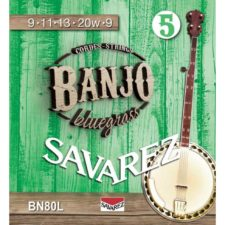 jeu de cordes light pour banjo savarez bn80l